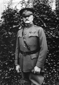 John J. Pershing, Commander of the American Expeditionary Force (AEF) during World War I