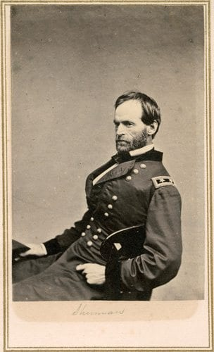 "Mortimer referenced a famous quote from Civil War General William T. Sherman, who said, ""War is hell."""