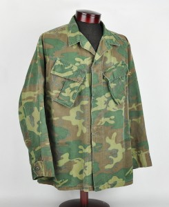 Utility jacket worn by James Mosel in Vietnam.