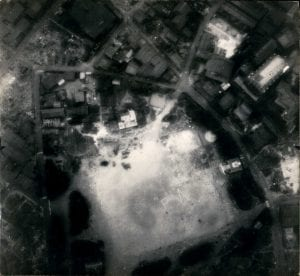 Japanese POW Camp Arial View