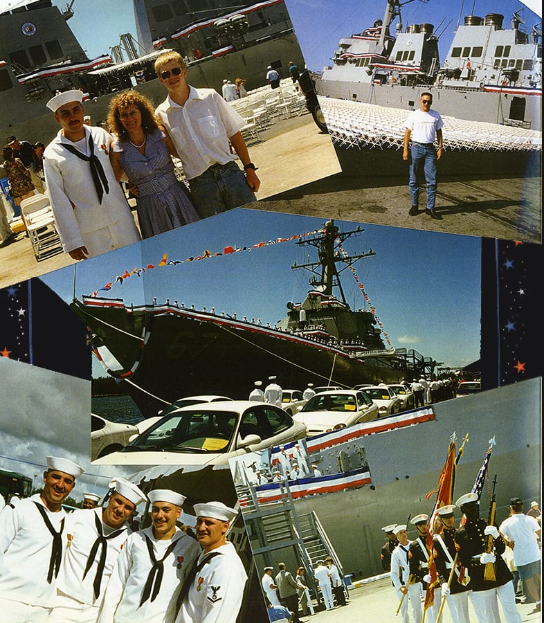 commissioning of the ship
