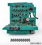 Photo of aircraft control panel