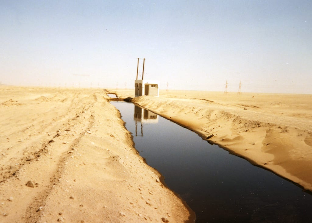 Oil Trenches