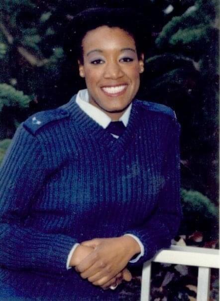 Image of Carolyn Morgan in her Air Force uniform
