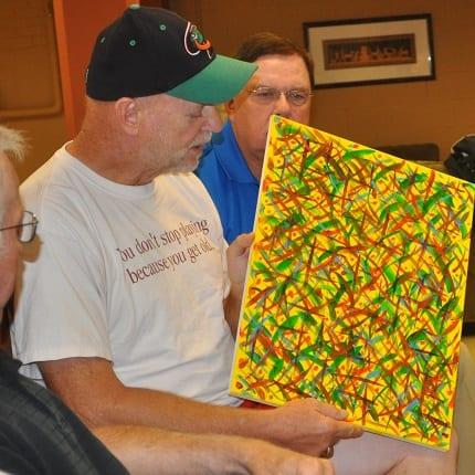 Darryl Johnson showing art
