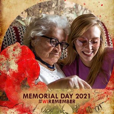Memorial Day Frame